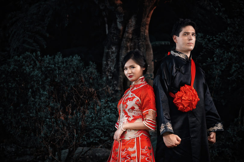 桃園大溪蘿莎會館|硯歆&GiorGio|結婚